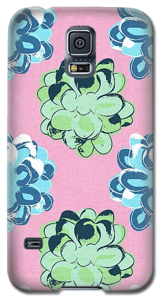 Spring Succulents- Art By Linda Woods Galaxy S5 Case by Linda Woods