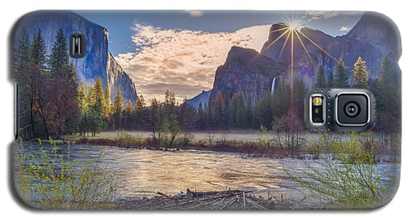 Spring Sunrise At Yosemite Valley Galaxy S5 Case