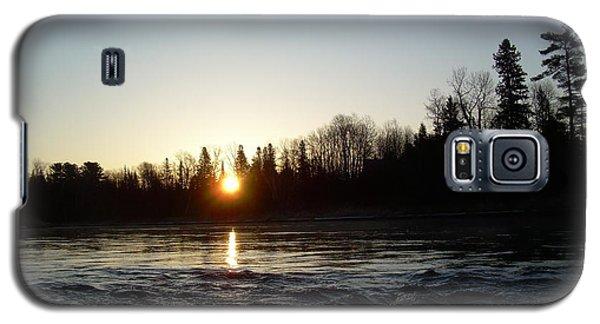 Spring Sunrise Over Mississippi River Galaxy S5 Case by Kent Lorentzen