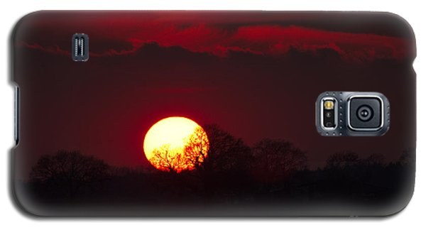 Spring Sunset Galaxy S5 Case