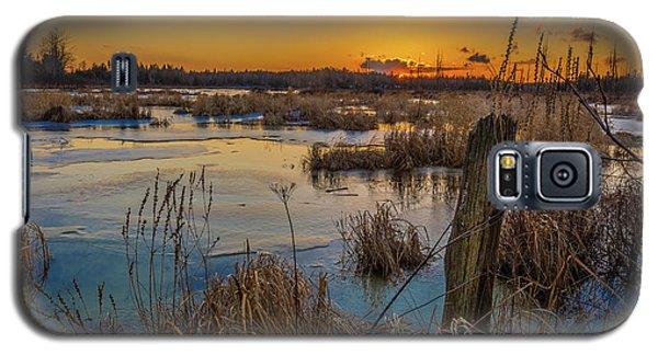 Spring Sunset Galaxy S5 Case