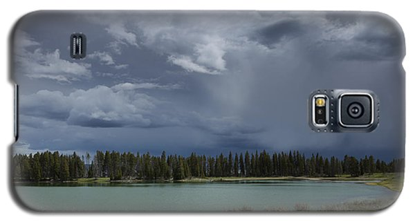 Spring Thunderstorm At Yellowstone Galaxy S5 Case