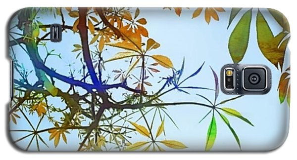 #spring #tree #leaves With #watercolor Galaxy S5 Case by Shari Warren