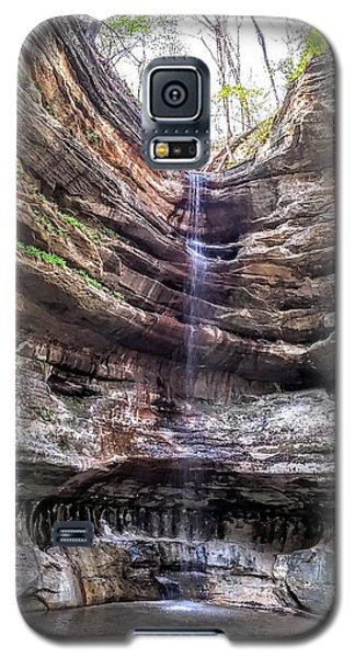 Galaxy S5 Case featuring the painting Spring Trickling In by Darren Robinson
