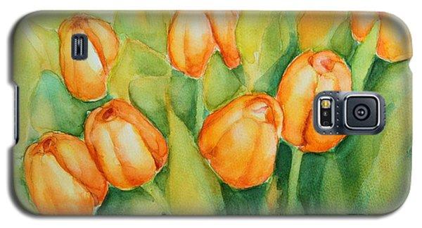 Spring Tulips 1 Galaxy S5 Case