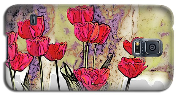 Spring Tulips Galaxy S5 Case
