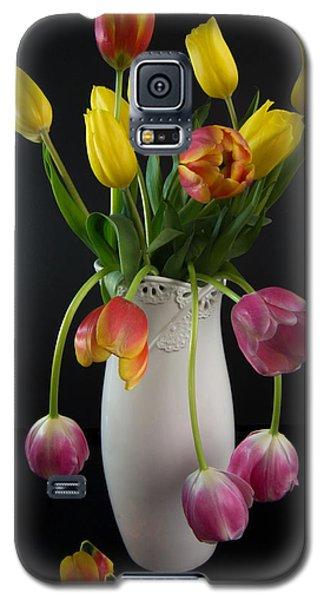 Spring Tulips In Vase Galaxy S5 Case