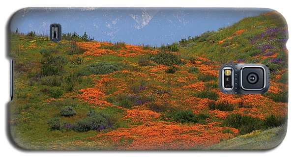 Galaxy S5 Case featuring the photograph Spring Wildflower Display At Diamond Lake In California by Jetson Nguyen