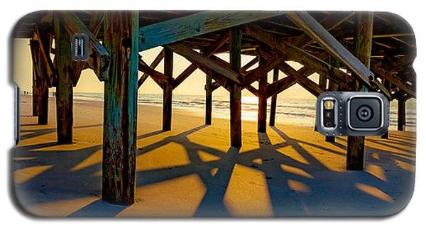 Springmaid Pier At Sunrise Galaxy S5 Case