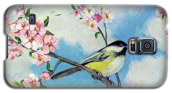 Galaxy S5 Case featuring the painting Spring's Promise by Donna Tucker
