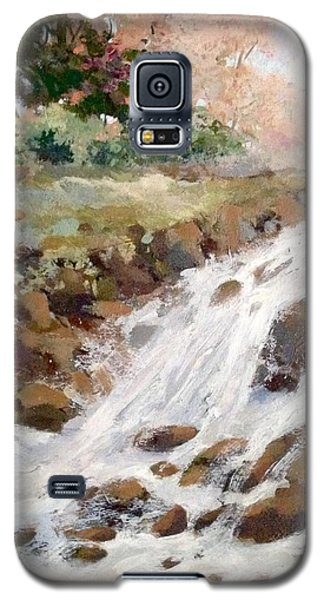 Galaxy S5 Case featuring the painting Spring's Promise by Helen Harris