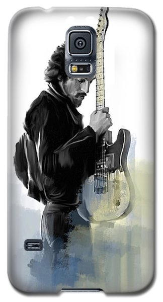 Springsteen Bruce Springsteen Galaxy S5 Case by Iconic Images Art Gallery David Pucciarelli
