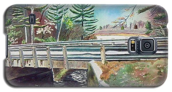 Springtime At Bass Lake Bridge Galaxy S5 Case