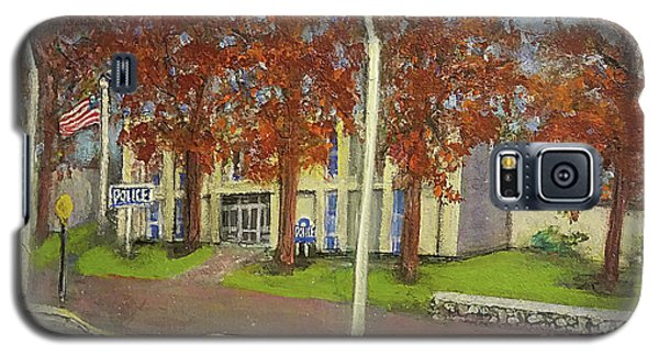 Springtime At Waltham Police Station Galaxy S5 Case