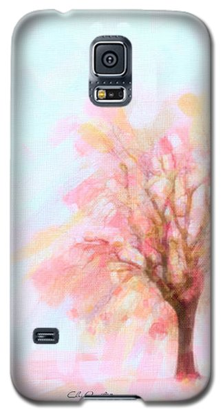 Galaxy S5 Case featuring the painting Springtime by Chris Armytage