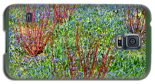 Galaxy S5 Case featuring the photograph Springtime Impression by Ann Horn