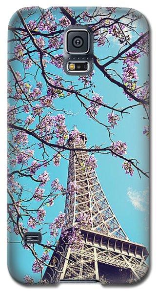 Springtime In Paris - Eiffel Tower Photograph Galaxy S5 Case by Melanie Alexandra Price