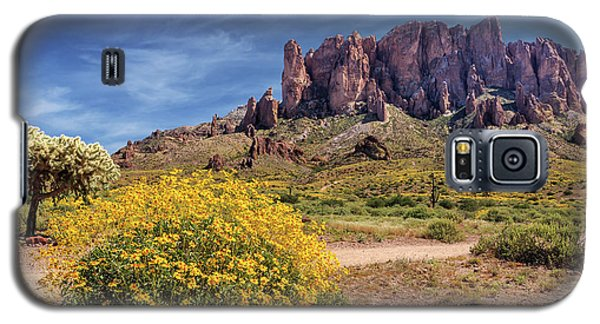 Springtime In The Superstition Mountains Galaxy S5 Case