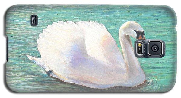Springtime On The River Galaxy S5 Case by Elizabeth Lock