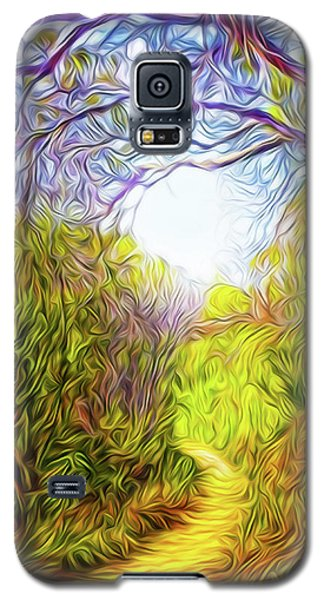 Springtime Pathway Discoveries Galaxy S5 Case by Joel Bruce Wallach