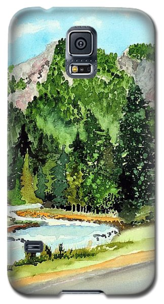 Springtime Poudre Canyon Galaxy S5 Case by Tom Riggs