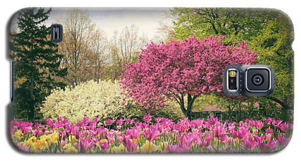Springtime Tulips Galaxy S5 Case by Jessica Jenney