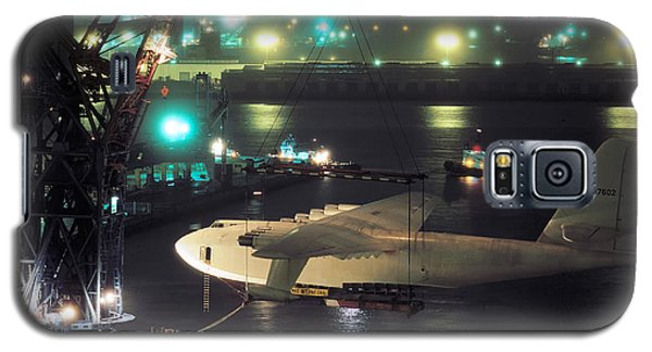 Spruce Goose Hanging From Crane February 10 1982 Galaxy S5 Case
