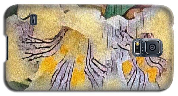 Spun Gold Galaxy S5 Case by Kathie Chicoine