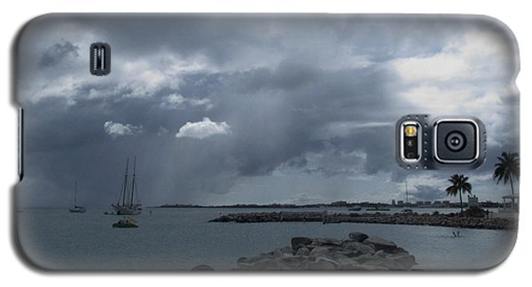 Squall In Simpson Bay St Maarten Galaxy S5 Case