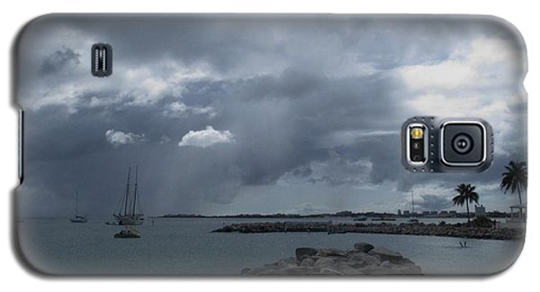 Squall In Simpson Bay St Maarten Galaxy S5 Case