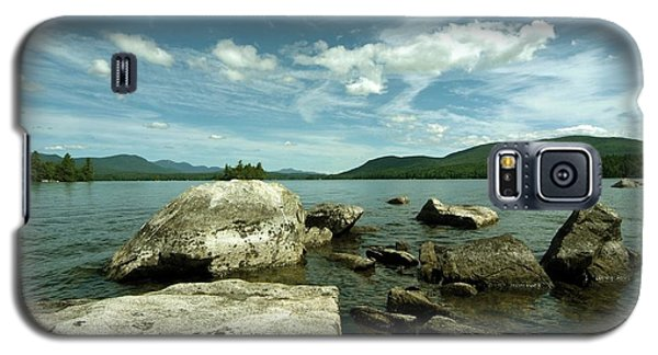 Squam Lake On The Rocks Galaxy S5 Case