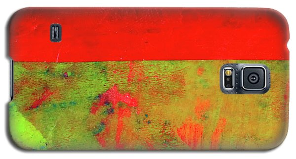 Galaxy S5 Case featuring the mixed media Square Collage No. 11 by Nancy Merkle