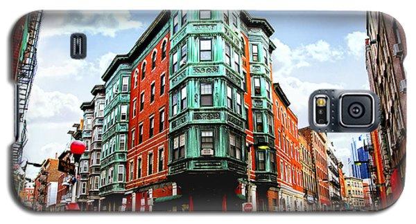 Square In Old Boston Galaxy S5 Case