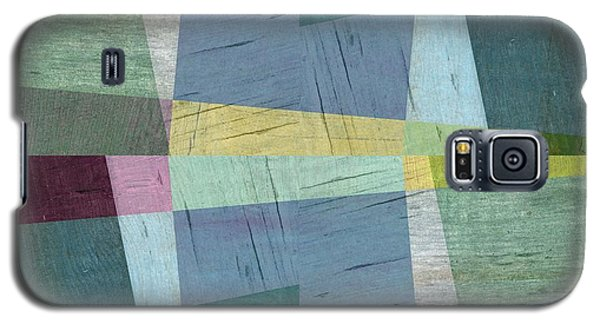 Galaxy S5 Case featuring the digital art Squares And Shims by Michelle Calkins