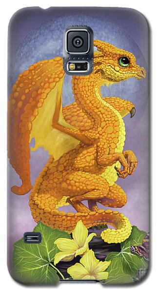 Galaxy S5 Case featuring the digital art Squash Dragon by Stanley Morrison