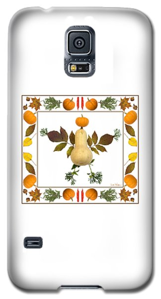 Squash With Pumpkin Head Galaxy S5 Case