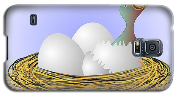 Squeaker Hatching From Eggs Galaxy S5 Case by Michal Boubin