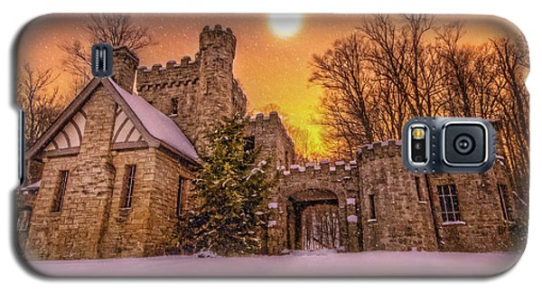 Squires Castle In The Winter Galaxy S5 Case by Brent Durken