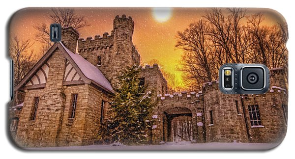 Squires Castle In The Winter Galaxy S5 Case
