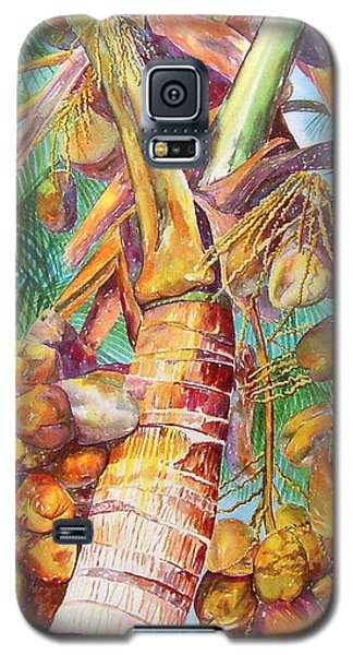 Squire's Coconuts Galaxy S5 Case by AnnaJo Vahle