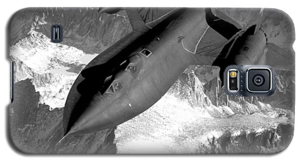 Blackbird Galaxy S5 Case - Sr-71 Blackbird Flying by War Is Hell Store