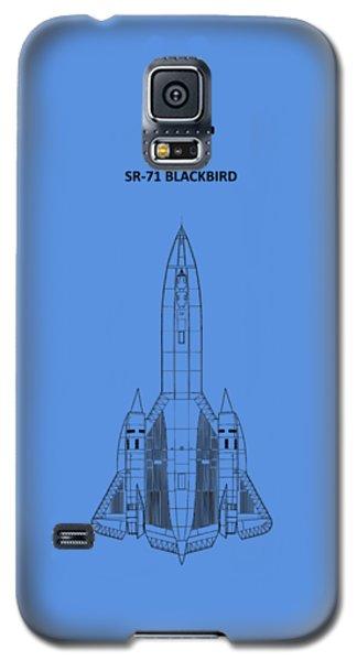 Sr-71 Blackbird Galaxy S5 Case by Mark Rogan