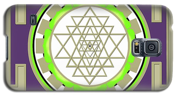 Sri Yantra Of Prosperity Galaxy S5 Case
