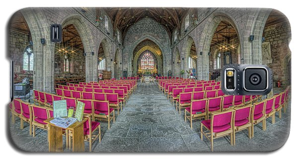 Galaxy S5 Case featuring the photograph St Asaph Cathedral by Ian Mitchell
