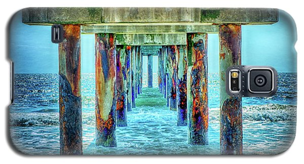Galaxy S5 Case featuring the photograph St. Augustine Beach by Louis Ferreira
