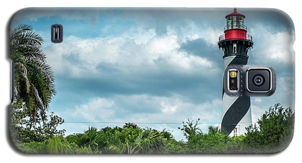 Galaxy S5 Case featuring the photograph St. Augustine Lighthouse by Louis Ferreira