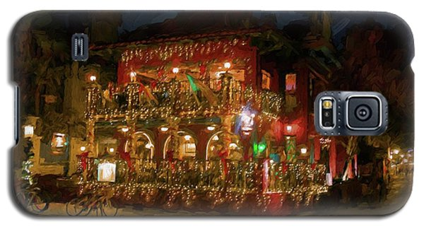 Galaxy S5 Case featuring the photograph  St. Augustine Meehan's Pub by Louis Ferreira