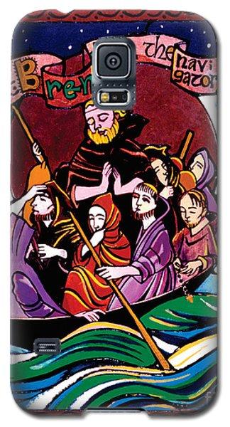 St. Brendan The Navigator - Mmbre Galaxy S5 Case
