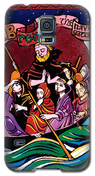 St. Brendan The Navigator - Mmbre Galaxy S5 Case