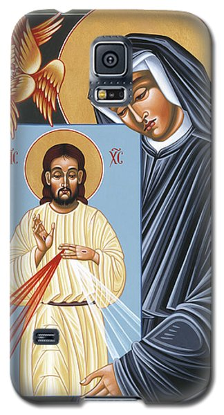 St Faustina Kowalska Apostle Of Divine Mercy 094 Galaxy S5 Case